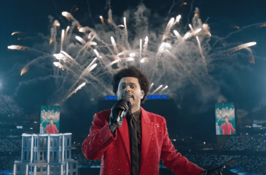 The Weeknd Shines in Super Bowl Halftime Show