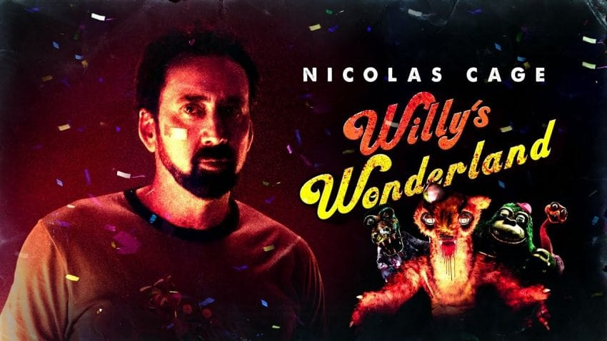 Nicolas Cage in Willy's Wonderland